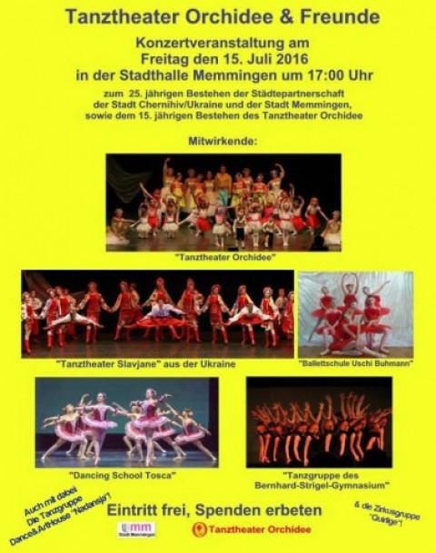 Tanztheater Orchidee lädt ein