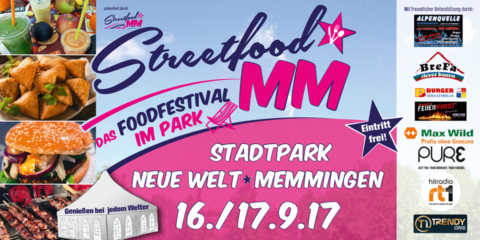Streetfood Festival Memmingen am 16.09.2017