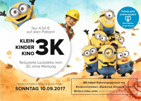 3 K – Kindertag im Cineplex Memmingen