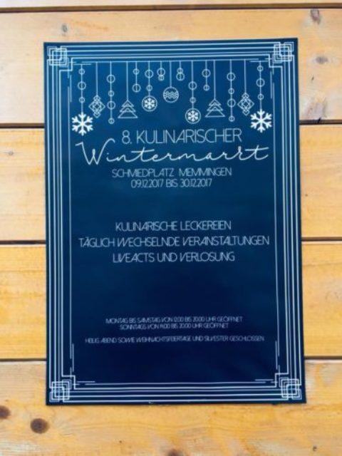 Kulinarischer Wintermarkt